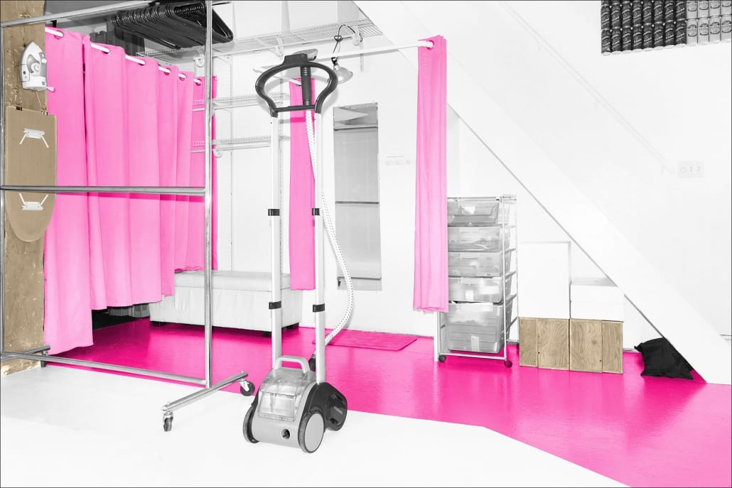 Wardrobe and Change Room Studio 207 Photo Rental Toronto